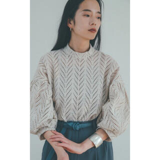 STUDIOUS -  CUT EMBROIDERY TOP  クラネ
