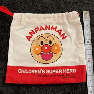 アンパンマン(アンパンマン)のアンパンマン 巾着袋(ランチボックス巾着)