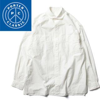 PORTER - Porter Classic WIDE POCKET SHIRT WHITE