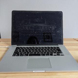 マック(Mac (Apple))のMacbook pro 2014 15インチ ※ケース付き(ノートPC)