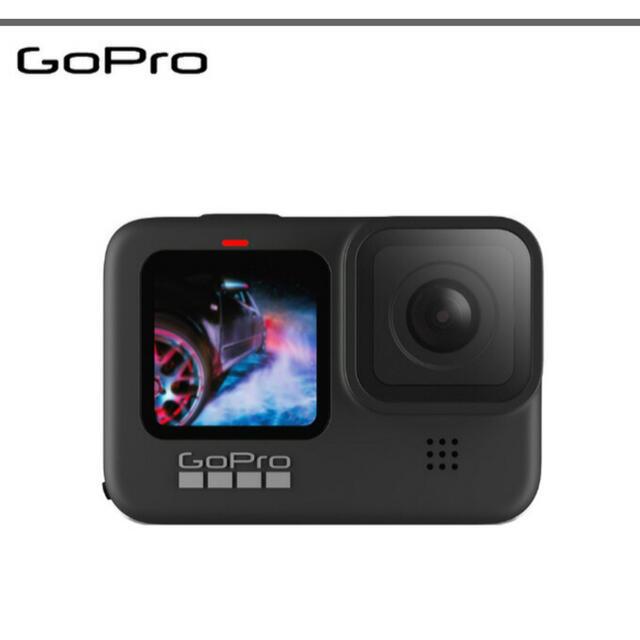GoPro(ゴープロ)の【新品】GoPro カメラ HERO9 Black CHDHX-901-FW スマホ/家電/カメラのカメラ(コンパクトデジタルカメラ)の商品写真