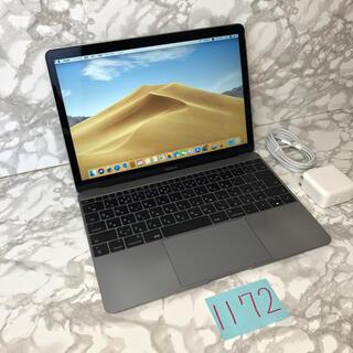 マック(Mac (Apple))の上位モデル MacBook retina 12インチ 2017(ノートPC)