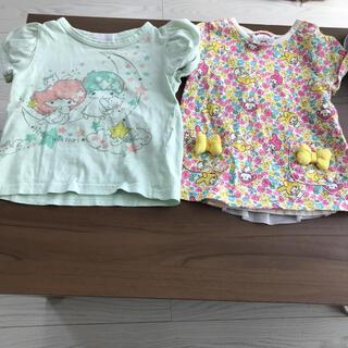 futafuta - TシャツSanrioマイメロディfutafutaキキララ リトルツインスターズ