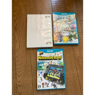 Wii U - WiiU 大乱闘スマッシュ Nintendo Land wiiマリオ ジャンク