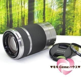 SONY - ソニー E 55-210mm☆手振れ補正付き望遠レンズ☆1572-1