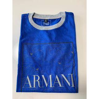 アルマーニ ジュニア(ARMANI JUNIOR)の【新品】ARMANI アルマーニ ジュニア ロゴ入りTシャツ 106㎝(Tシャツ/カットソー)