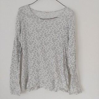 サマンサモスモス(SM2)のサマンサモス SM2 花柄 長袖 Tシャツ(Tシャツ(長袖/七分))