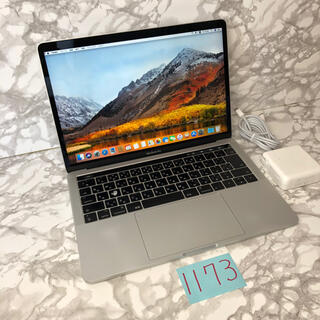 マック(Mac (Apple))のメモリ16GB!MacBook pro 13インチ 2017タッチバー搭載(ノートPC)