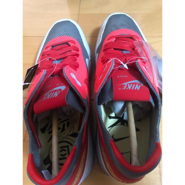 NIKE(ナイキ)のCLOT × NIKE AIR MAX 1 K.O.D SOLAR RED メンズの靴/シューズ(スニーカー)の商品写真