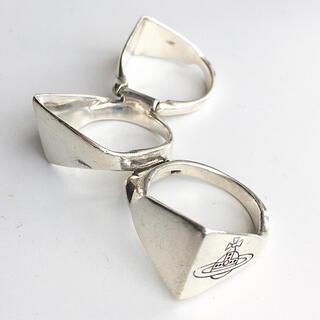 ヴィヴィアンウエストウッド(Vivienne Westwood)の3連 リング シルバー925製 (リング(指輪))