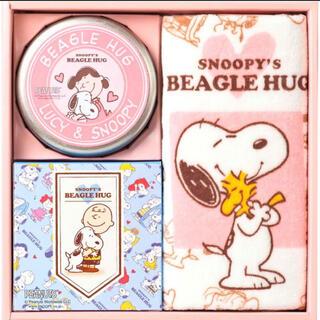 スヌーピー(SNOOPY)のスヌーピー ジョイフルスヌーピー タオル・クッキー・紅茶セット(タオル/バス用品)