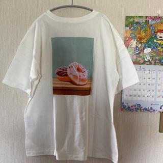 サマンサモスモス(SM2)の新品*melan Clege*スイーツプリントTシャツ(Tシャツ(半袖/袖なし))