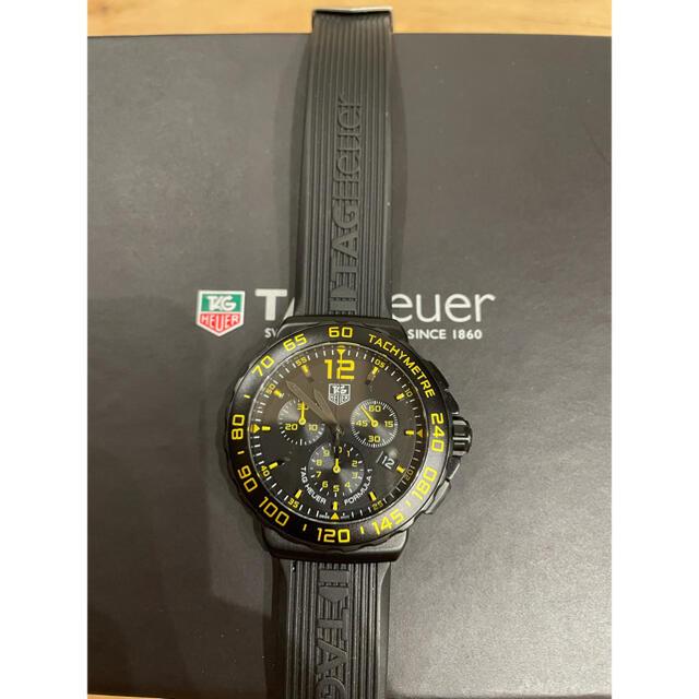 TAG Heuer(タグホイヤー)の希少 TAGHeuer フォーミュラ1 イエロー cau111e メンズの時計(腕時計(アナログ))の商品写真