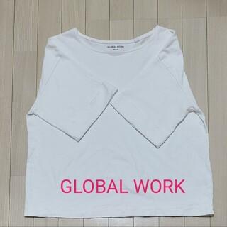 グローバルワーク(GLOBAL WORK)のGLOBAL WORK 半袖 コットン Mサイズ トップス ビッグ USAコット(Tシャツ(半袖/袖なし))