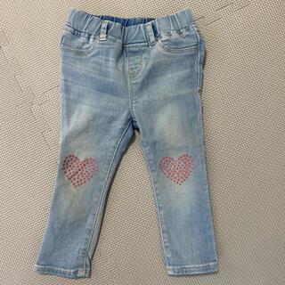 ギャップキッズ(GAP Kids)のGAP ハートデニムのジーンズパンツ 95(パンツ/スパッツ)
