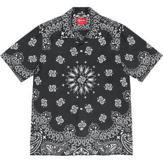 Supreme - 新品 supreme Bandana Silk S/S Shirt サイズM