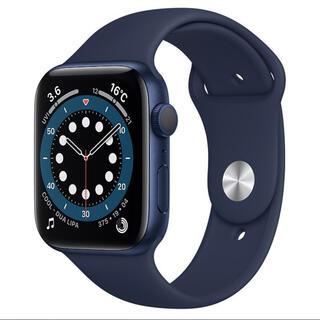 アップルウォッチ(Apple Watch)の新品未開封 Apple Watch series6 GPS 44mm(腕時計(デジタル))