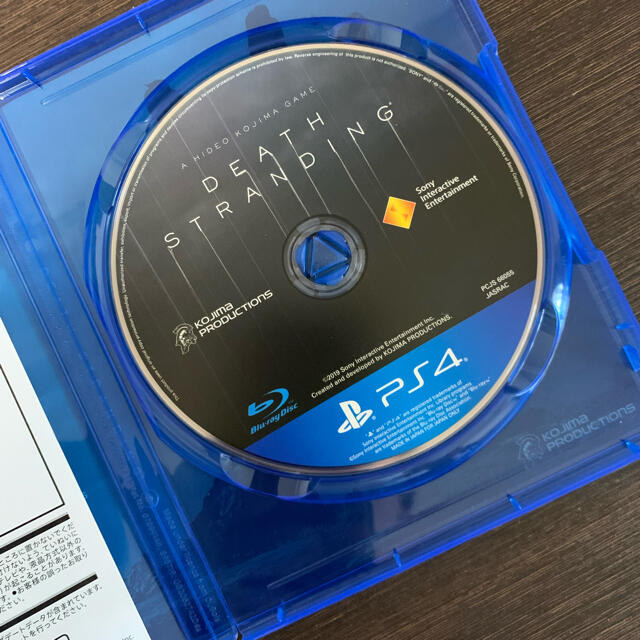 PlayStation4(プレイステーション4)のDEATH STRANDING(デス・ストランディング)  エンタメ/ホビーのゲームソフト/ゲーム機本体(家庭用ゲームソフト)の商品写真