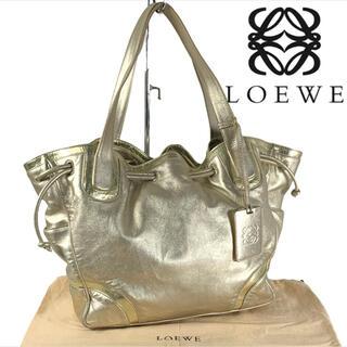 ロエベ(LOEWE)のアナグラム 巾着 LOEWE フルレザー トートバッグ A4収納可 (トートバッグ)