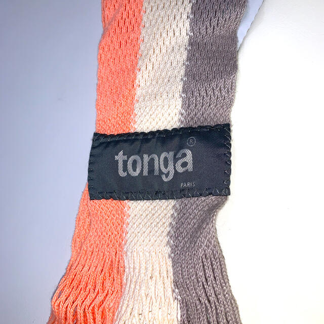 tonga(トンガ)のトンガ S  ブロッサムストライプ キッズ/ベビー/マタニティの外出/移動用品(スリング)の商品写真