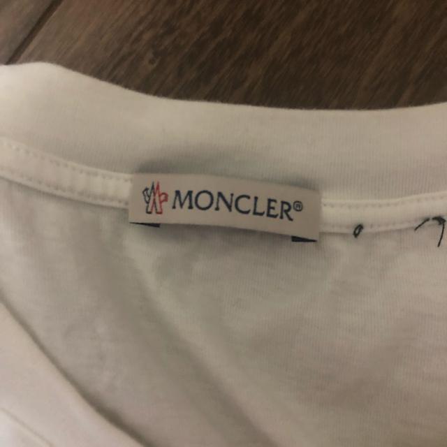MONCLER(モンクレール)のXXL モンクレール MAGLIA T-SHIRT Tシャツ メンズのトップス(Tシャツ/カットソー(半袖/袖なし))の商品写真