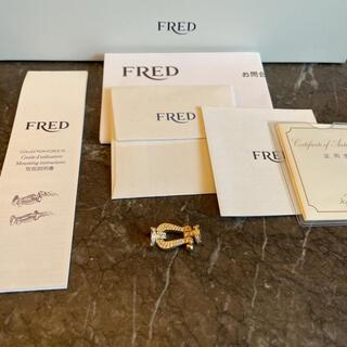 フレッド(FRED)の【正規品】FRED(フレッド) YG 純正ダイヤモンド LMバックル 新品同様!(ブレスレット)