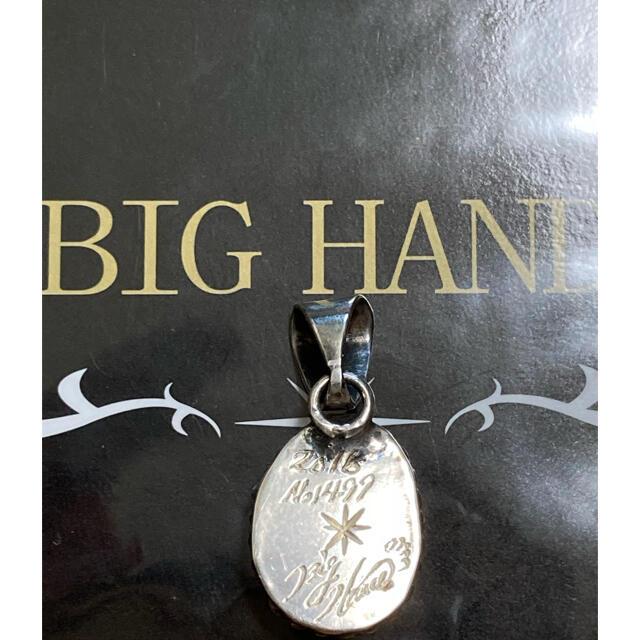 BIG HAND ターコイズ ペンダント TOP メンズのアクセサリー(ネックレス)の商品写真