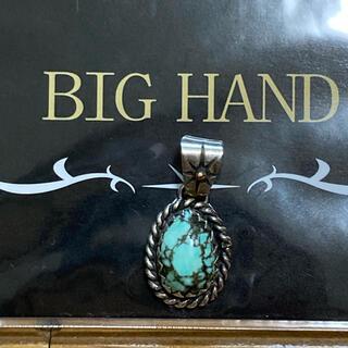 BIG HAND ターコイズ ペンダント TOP