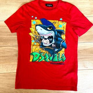 ディースクエアード(DSQUARED2)のDSQUARED2 tシャツ 美品 12Y サメ ブルドック(Tシャツ/カットソー)