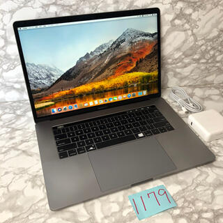 マック(Mac (Apple))の格安良品!MacBook pro 15インチ 2018(ノートPC)