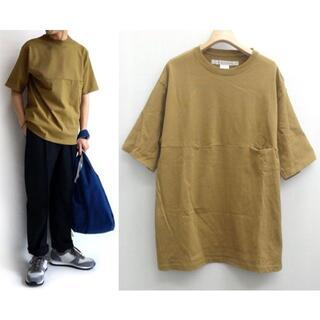 コモリ(COMOLI)の21SS EEL イール YURURI TEE 1/2 Tシャツ M ユルリ(Tシャツ/カットソー(半袖/袖なし))