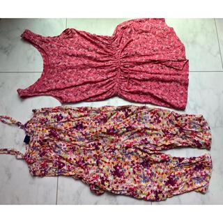ギャップキッズ(GAP Kids)の子供服 サイズ120 サロペット オールインワン セット gap(ワンピース)
