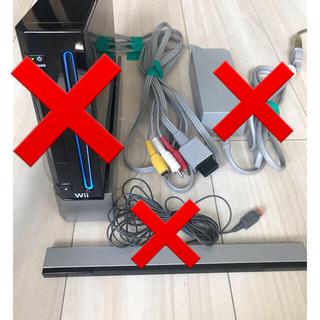 Wii - Wii ケーブル/アダプタ/センサーバー/本体スタンド