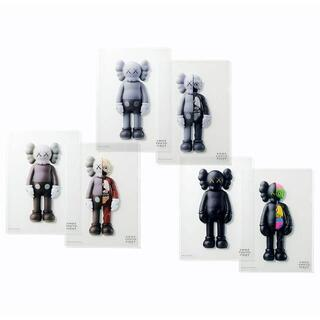 KAWS TOKYO FIRST 限定 クリアファイル A4サイズ 2枚組×3(クリアファイル)