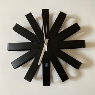 ムジルシリョウヒン(MUJI (無印良品))のumbra 時計 ウォールクロック(掛時計/柱時計)