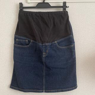 ムジルシリョウヒン(MUJI (無印良品))のマタニティ スカート(ひざ丈スカート)