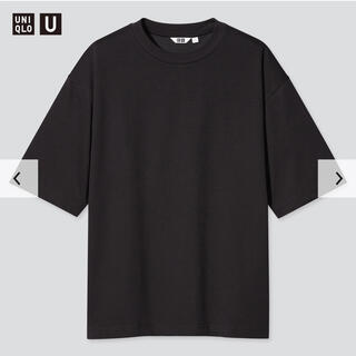 UNIQLO - UNIQLO U エアリズムコットンオーバーサイズTシャツ