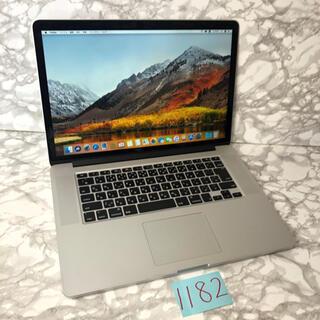 マック(Mac (Apple))の最上位モデル!MacBook pro retina 15インチ mid2014(ノートPC)