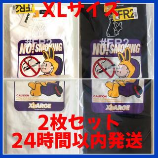 XLARGE - XLARGE FR2 コラボ NO SMOKING T-shirt XL 白黒