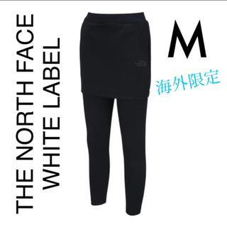 ザノースフェイス(THE NORTH FACE)の32. ノースフェイス スカート付きレギンス 黒(レギンス/スパッツ)