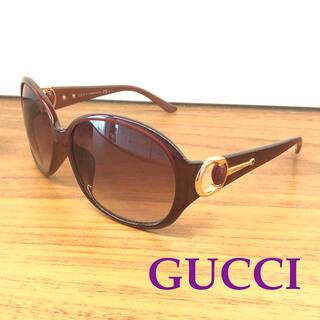 Gucci - GUCCI グッチ サングラス ボルドー パープル ゴールド