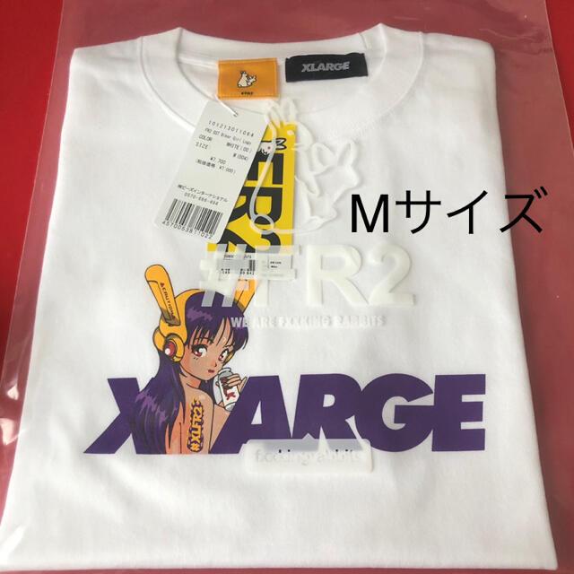 XLARGE(エクストララージ)のXLARGE FR2 biker girl logo M white メンズのトップス(Tシャツ/カットソー(半袖/袖なし))の商品写真
