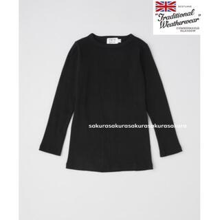 イエナ(IENA)の新品 トラディショナルウェザーウェア ベーシック リブクルーネック カットソー(Tシャツ(長袖/七分))