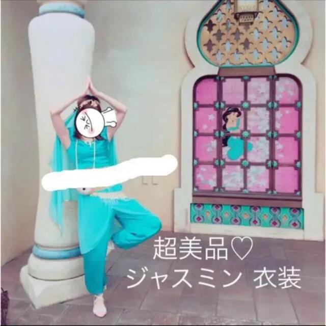 超美品♡ジャスミン コスプレ衣装5点セット(ハロウィン ディズニー関連 エンタメ/ホビーのコスプレ(衣装一式)の商品写真
