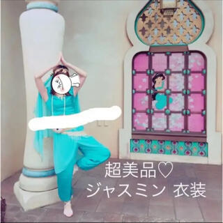 超美品♡ジャスミン コスプレ衣装5点セット(ハロウィン ディズニー関連(衣装一式)
