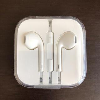 アイフォーン(iPhone)のiPhone純正イヤホン iPhoneイヤホン 純正品(ヘッドフォン/イヤフォン)