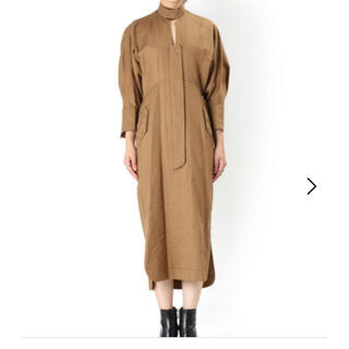 mame -  【Mame  Cotton Double Cloth Dress