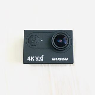 ゴープロ(GoPro)のMuson高画質4Kカメラ2.0インチ液晶リモコン付40m防水対応(コンパクトデジタルカメラ)