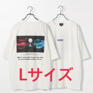 レイジブルー(RAGEBLUE)の呪術廻戦 RAGEBLUE  レイジーブルー コラボプリントTシャツ 五条悟 L(その他)