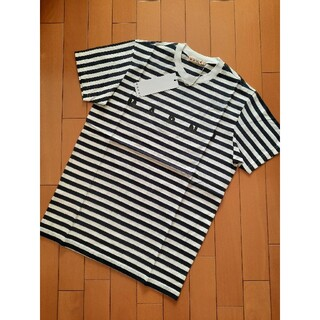 Marni - 1点限り!⭐21SS/新品 MARNI   ボーダーロゴ Tシャツ 10Y